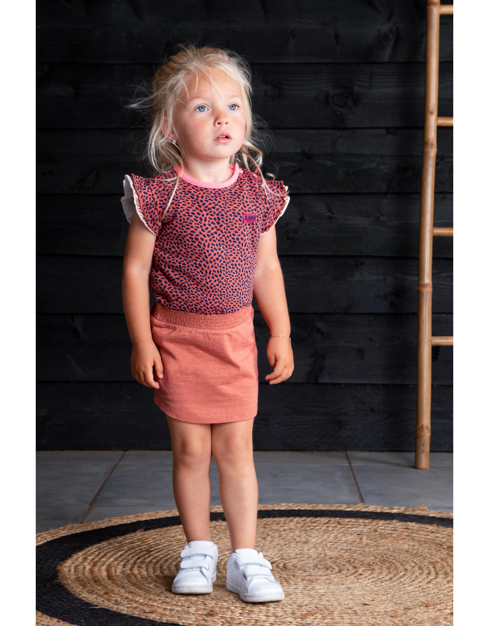 B.Nosy B.Nosy baby meisjes jurk glitters Mix Dots