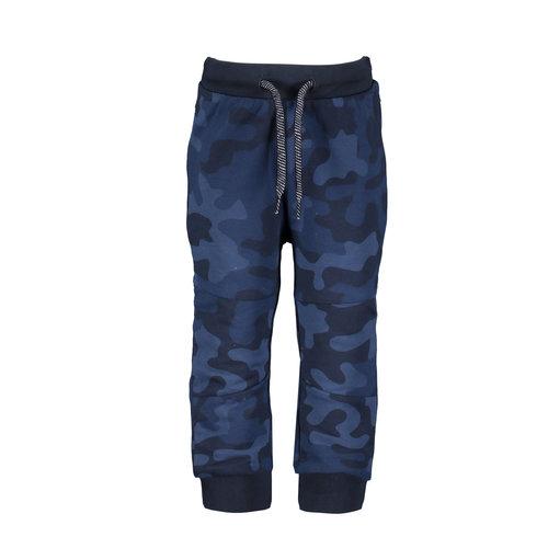 B.Nosy B.Nosy baby jongens joggingbroek Camo Space Blue