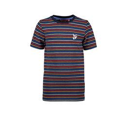 TYGO & vito TYGO & vito jongens gestreept t-shirt Navy S21