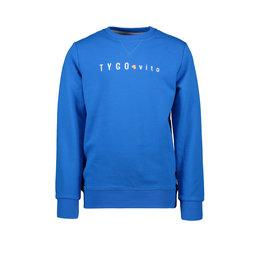 TYGO & vito TYGGO & vito jongens sweater borduurprint Sky Blue S21