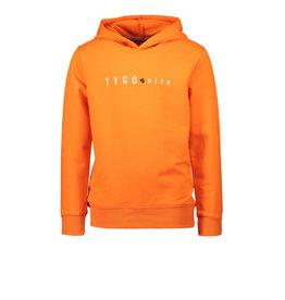 TYGO & vito TYGO & vito jongens hoodie Shocking Orange S21