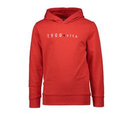 TYGO & vito TYGO & vito jongens hoodie Red S21