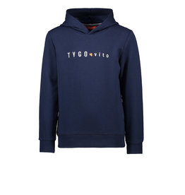 TYGO & vito TYGO & vito jongens hoodie Navy S21