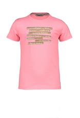 Moodstreet Moodstreet meisjes t-shirt Sparkling Pink Chestprint