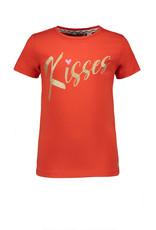 Moodstreet Moodstreet meisjes t-shirt Red Kisses