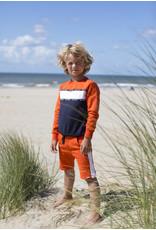 Moodstreet Moodstreet jongens sweater Orange Red Cut&Sewn