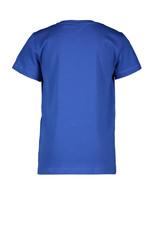 Moodstreet Moodstreet jongens t-shirt Sporty Blue Chestprint