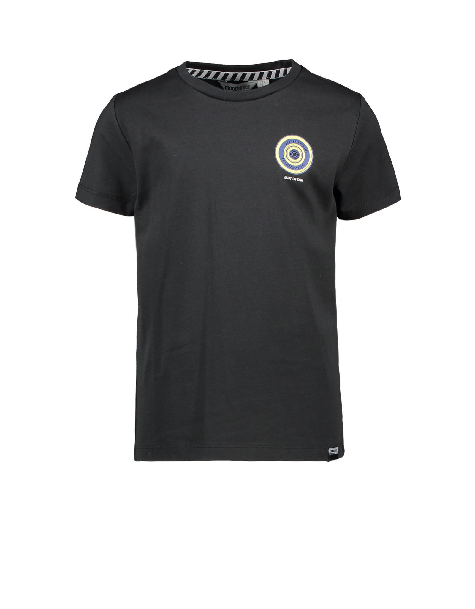 Moodstreet Moodstreet jongens t-shirt Black Back Print