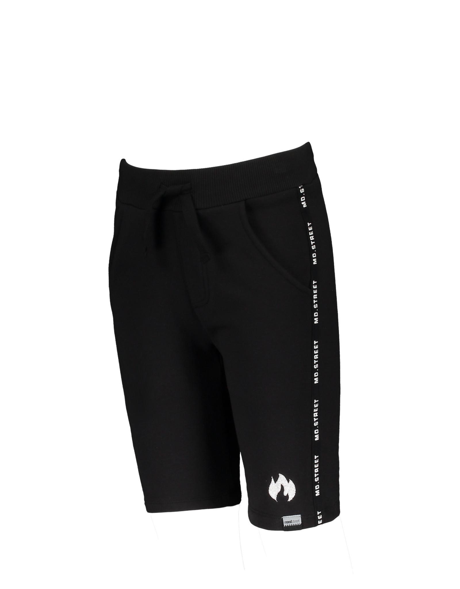 Moodstreet Moodstreet jongens korte joggingbroek Black S21
