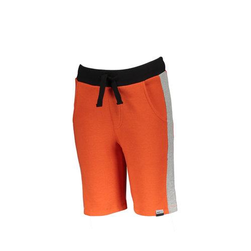 Moodstreet Moodstreet jongens korte joggingbroek Orange Red S21