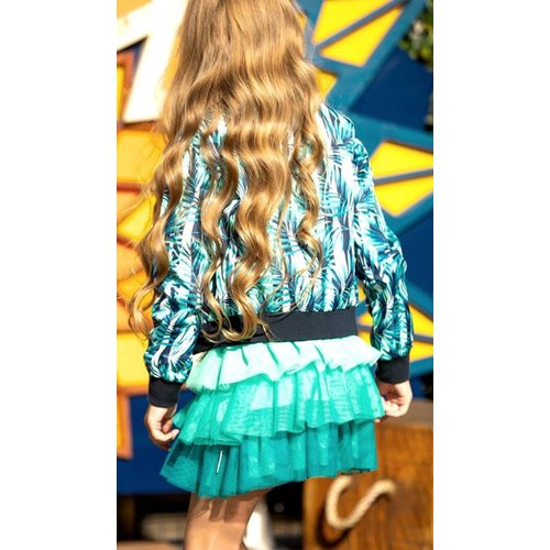 B.Nosy B.Nosy meisjes zomerjas Tropical Palm Navy