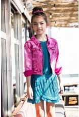 B.Nosy B.Nosy meisjes spijkerjas Good Pink Denim
