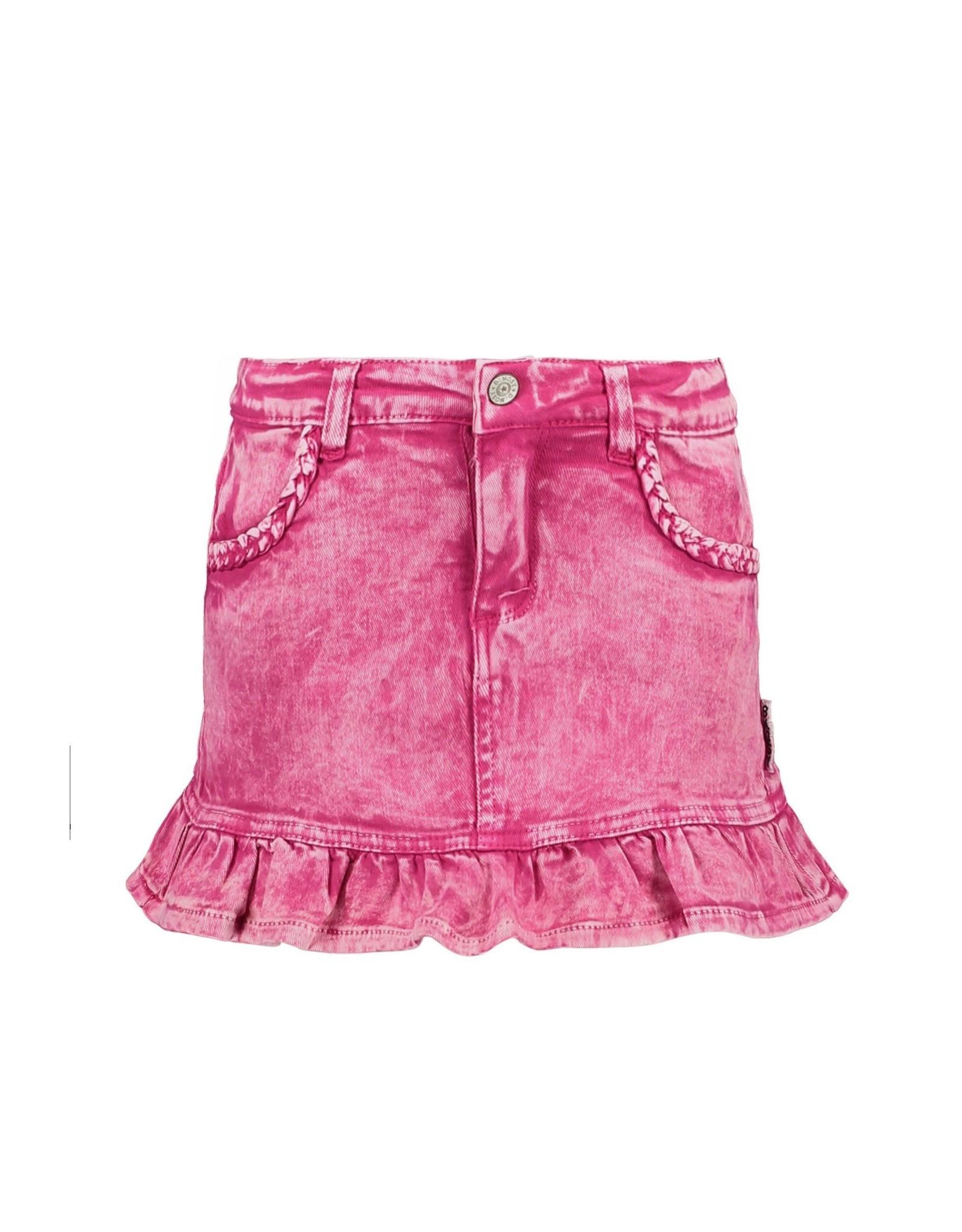 B.Nosy B.Nosy meisjes jeans rok Good Pink Denim