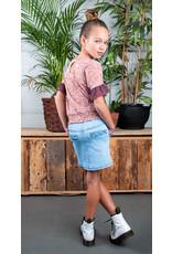 B.Nosy B.Nosy meisjes spijkerrok met knopen Curious Denim