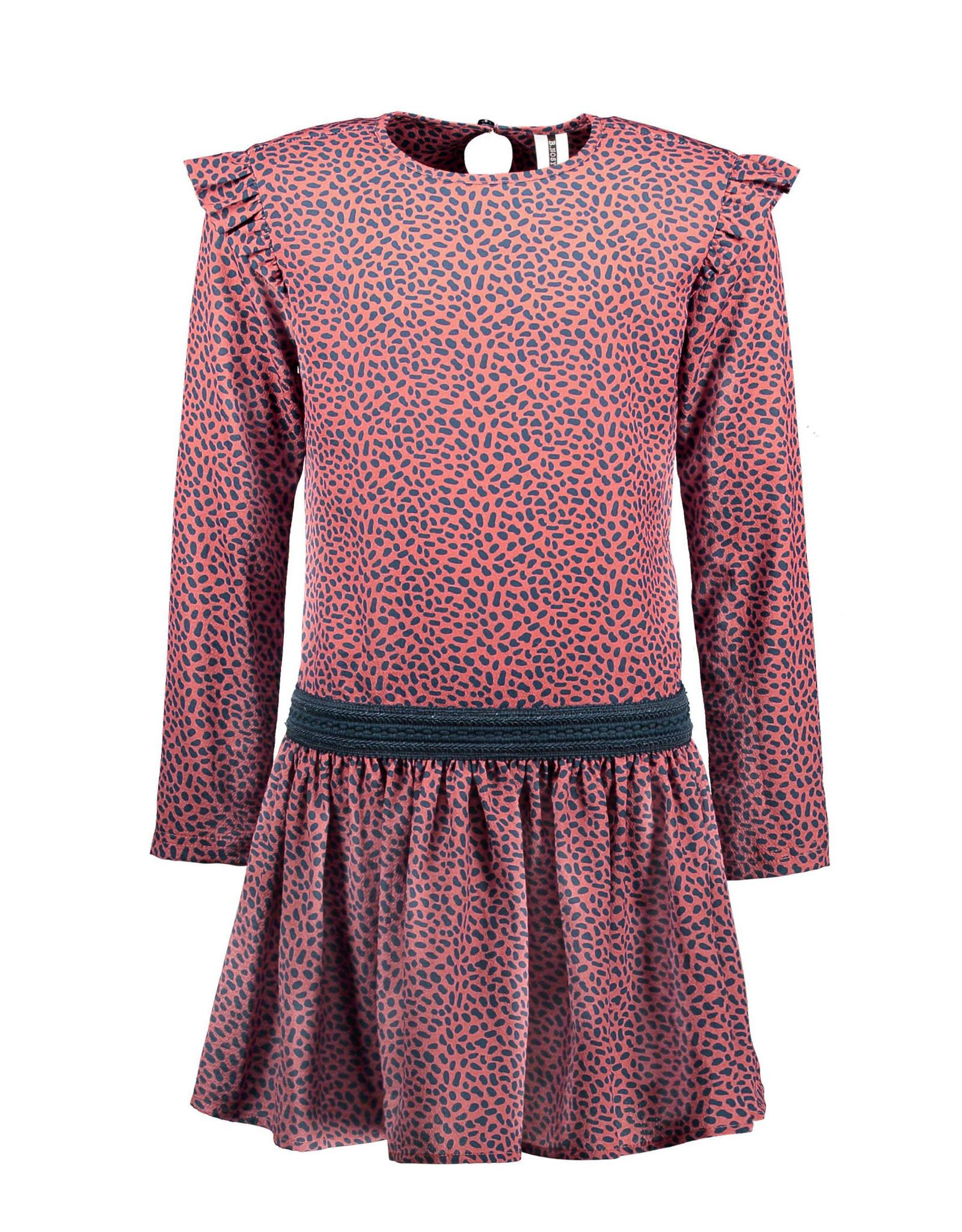 B.Nosy B.Nosy meisjes jurk Mix Dots S21