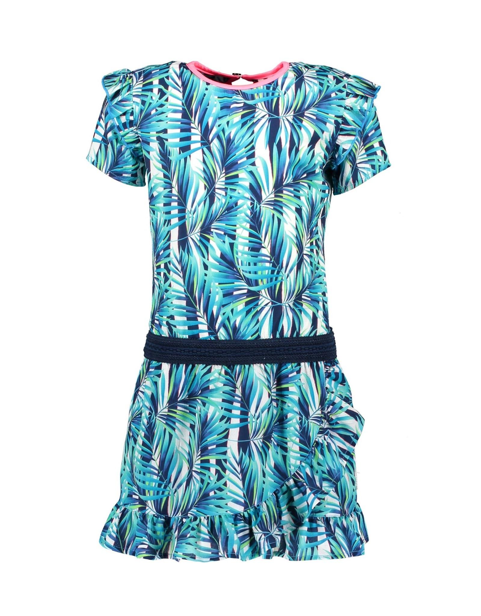 B.Nosy B.Nosy meisjes jurk Tropical Palm