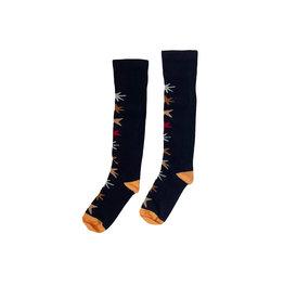 Topitm Topitem meisjes sokken Gabriella Dark Blue Star