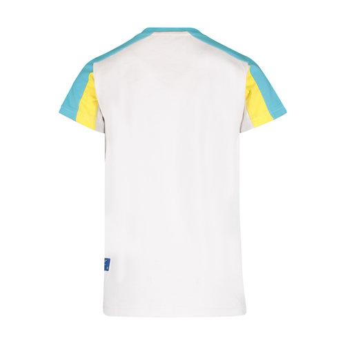 4President 4President jongens t-shirt Kai White/Navy