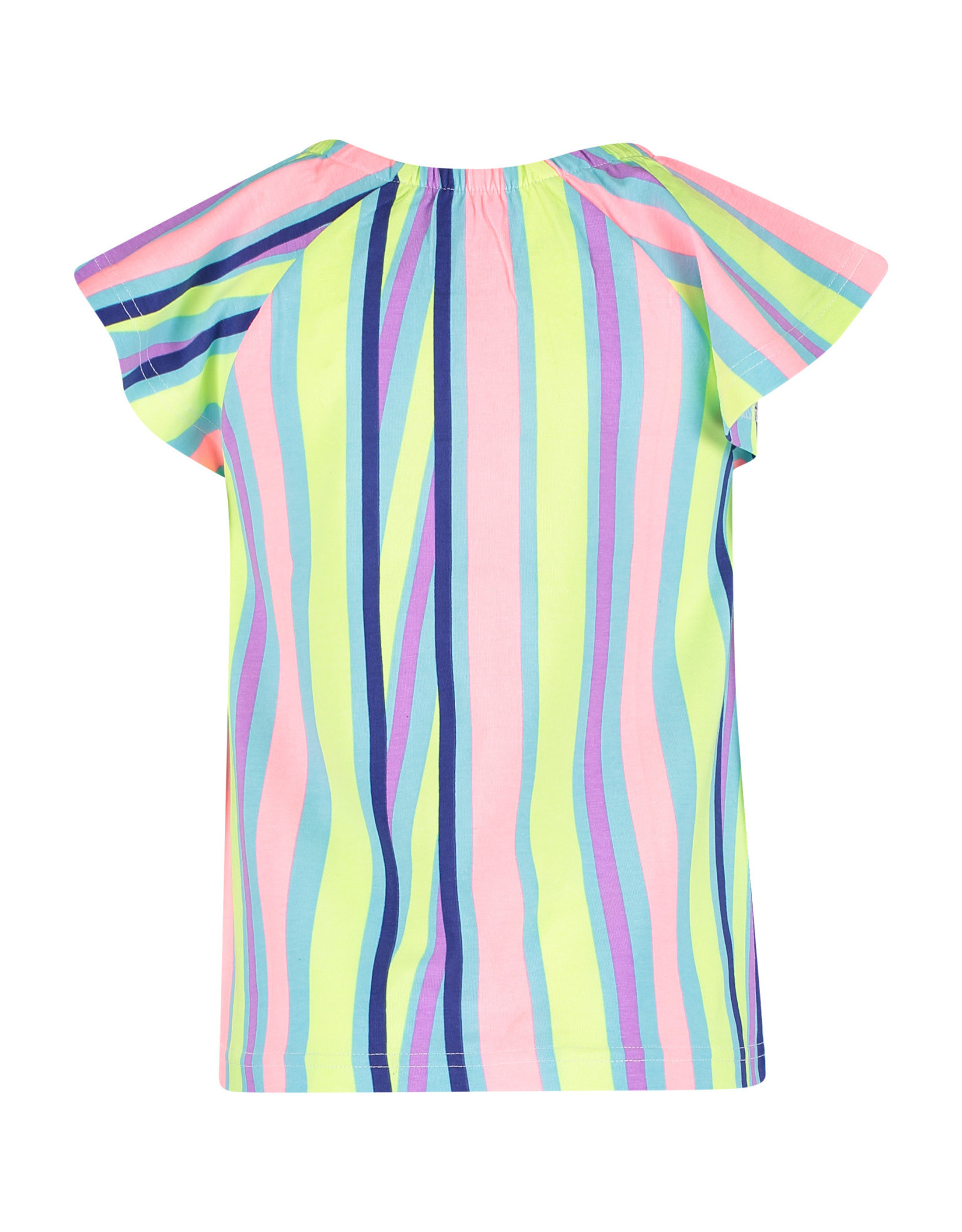 4President 4President meisjes t-shirt Maya Multicolor Stripes