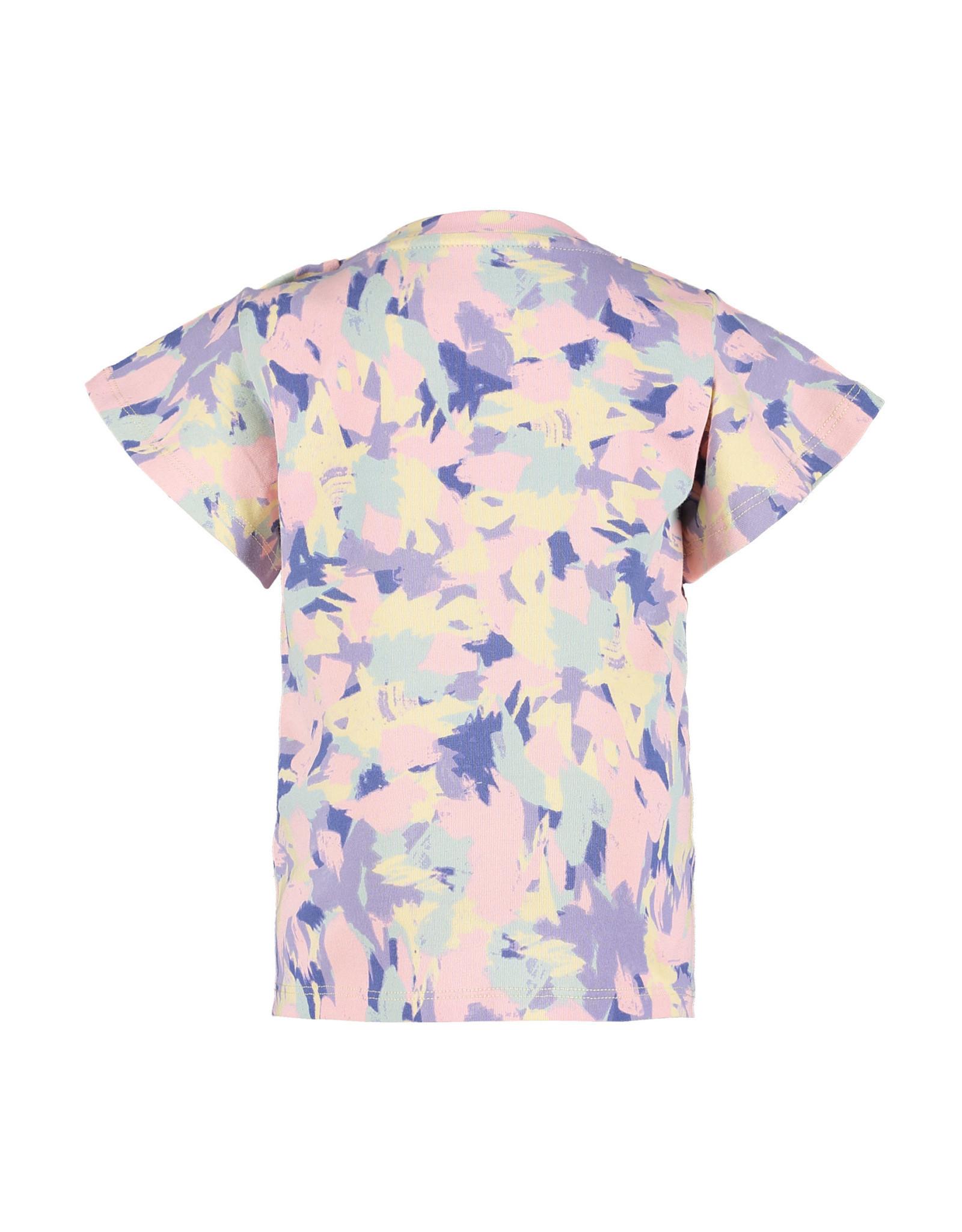 4President 4President meisjes t-shirt Ilse lilac AOP