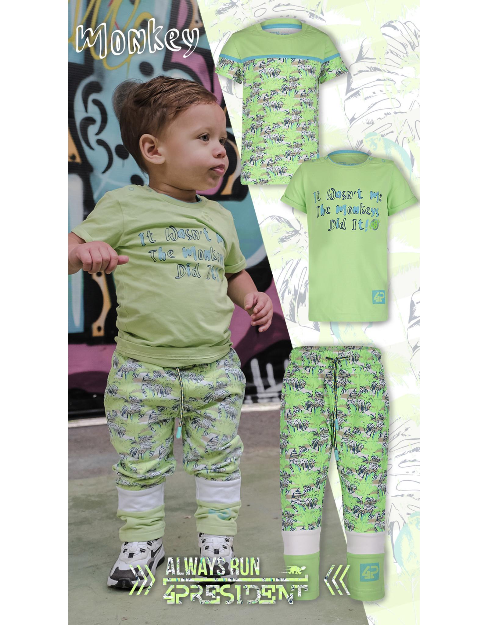 4President 4President jongens t-shirt Ivar LB Green