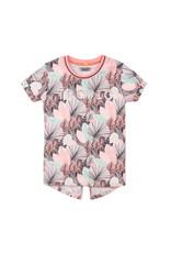 DJ Dutchjeans DJ Dutchjeans meisjes t-shirt Tropic Multi Color