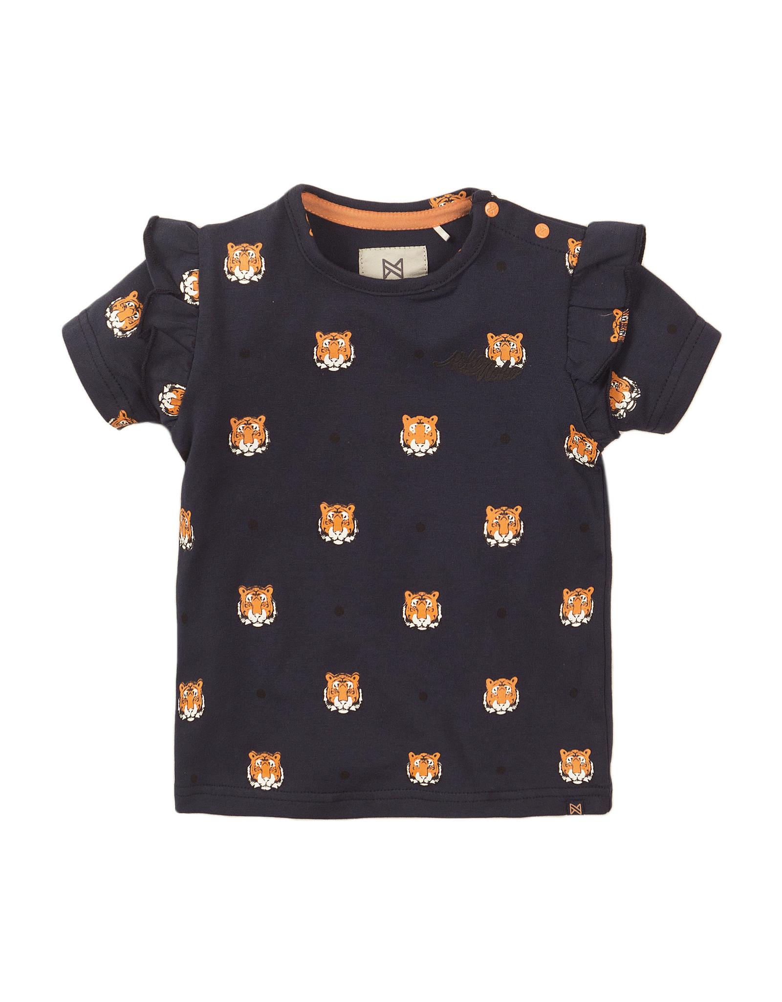 Koko Noko Koko Noko meisjes t-shirt Tigers Navy