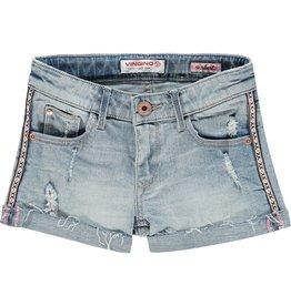 Vingino Vingino meiden korte jeans Dyante Light Indigo