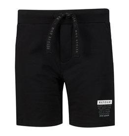 RETOUR Retour jongens korte joggingbroek Maxim Black S21