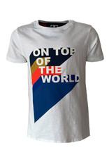 Mister-T Mister-T jongens t-shirt Thomas White