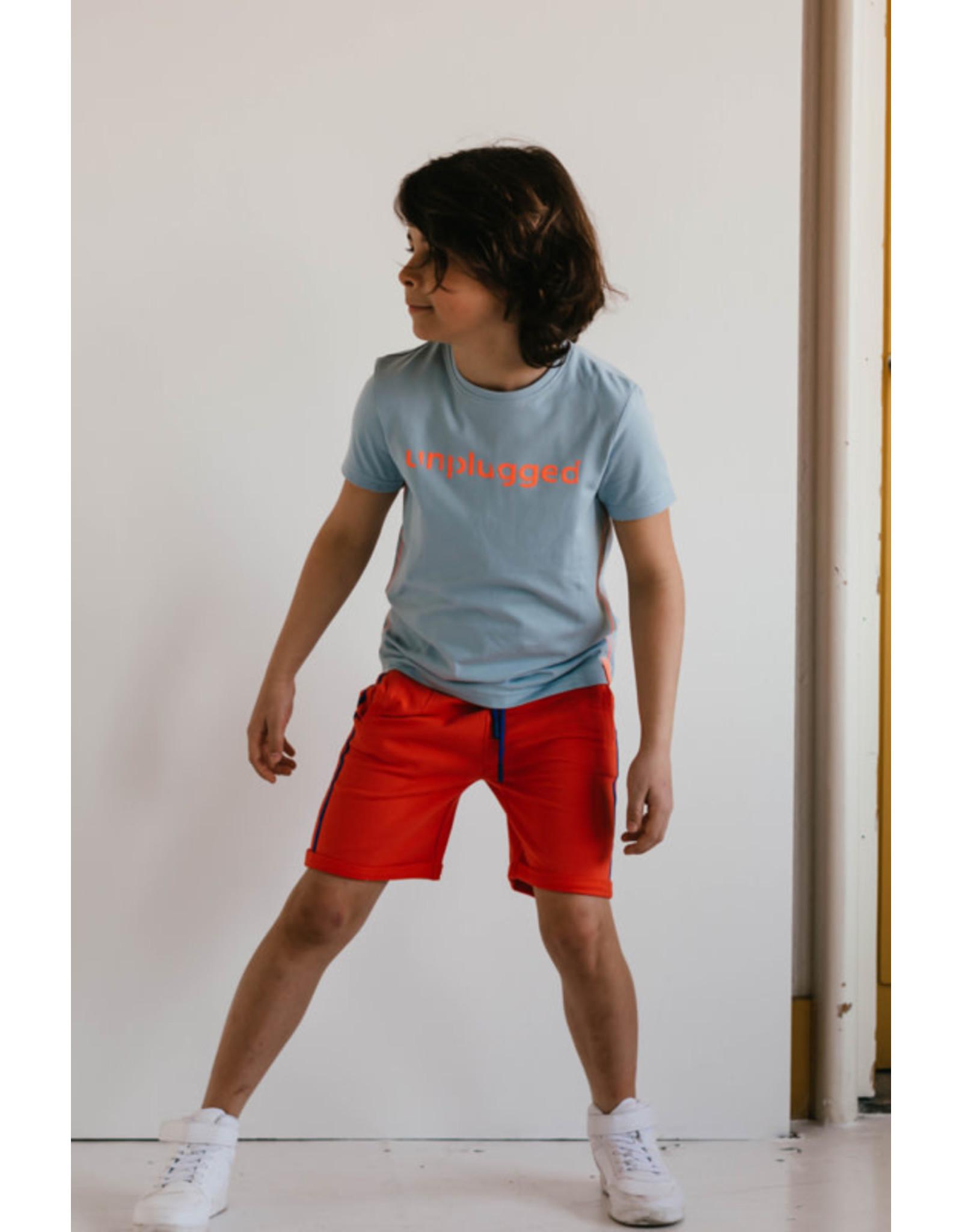 Mister-T Mister-T jongens t-shirt Menno Ice Blue