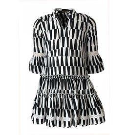 Topitm Topitm meiden jurk Zita Black White