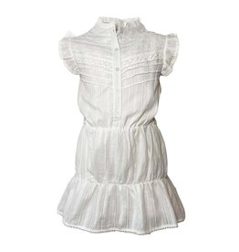 Topitm Topitm meiden jurk Dot lace off White