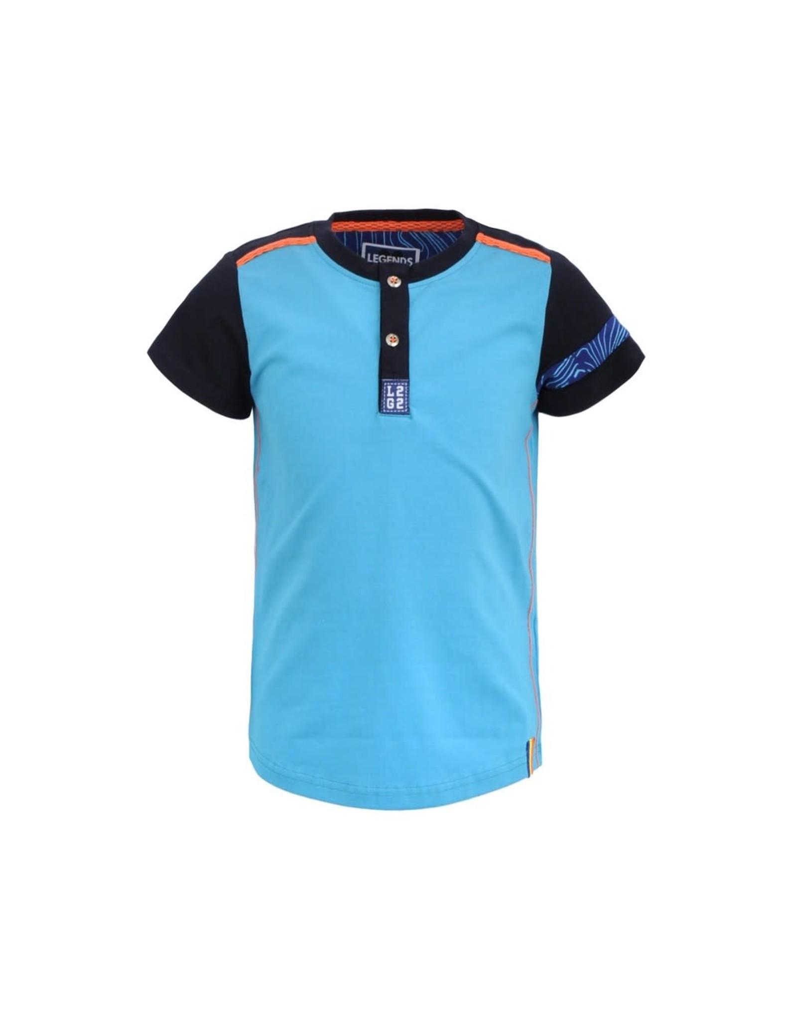 Legends jongens t-shirt Orion Scuba Blue