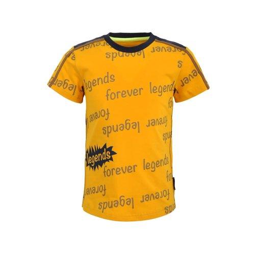 Legends Legends jongens t-shirt Olaf Yellow