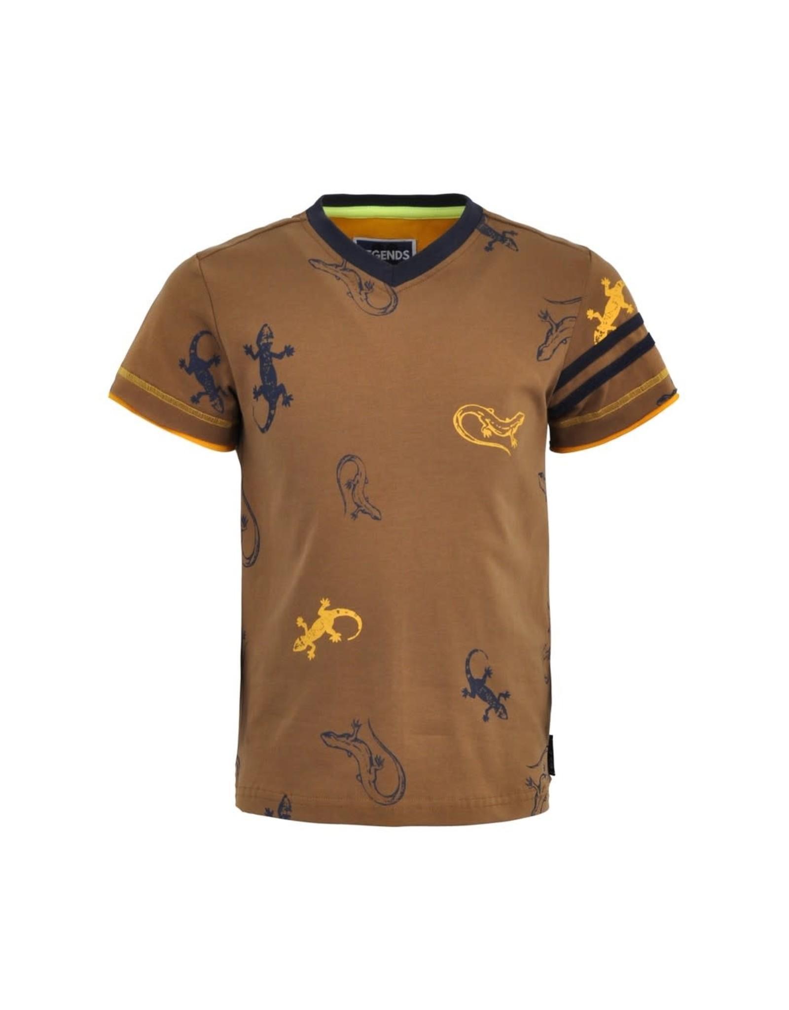 Legends jongens t-shirt Olger Brown
