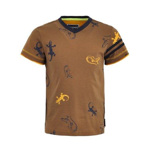 Legends Legends jongens t-shirt Olger Brown