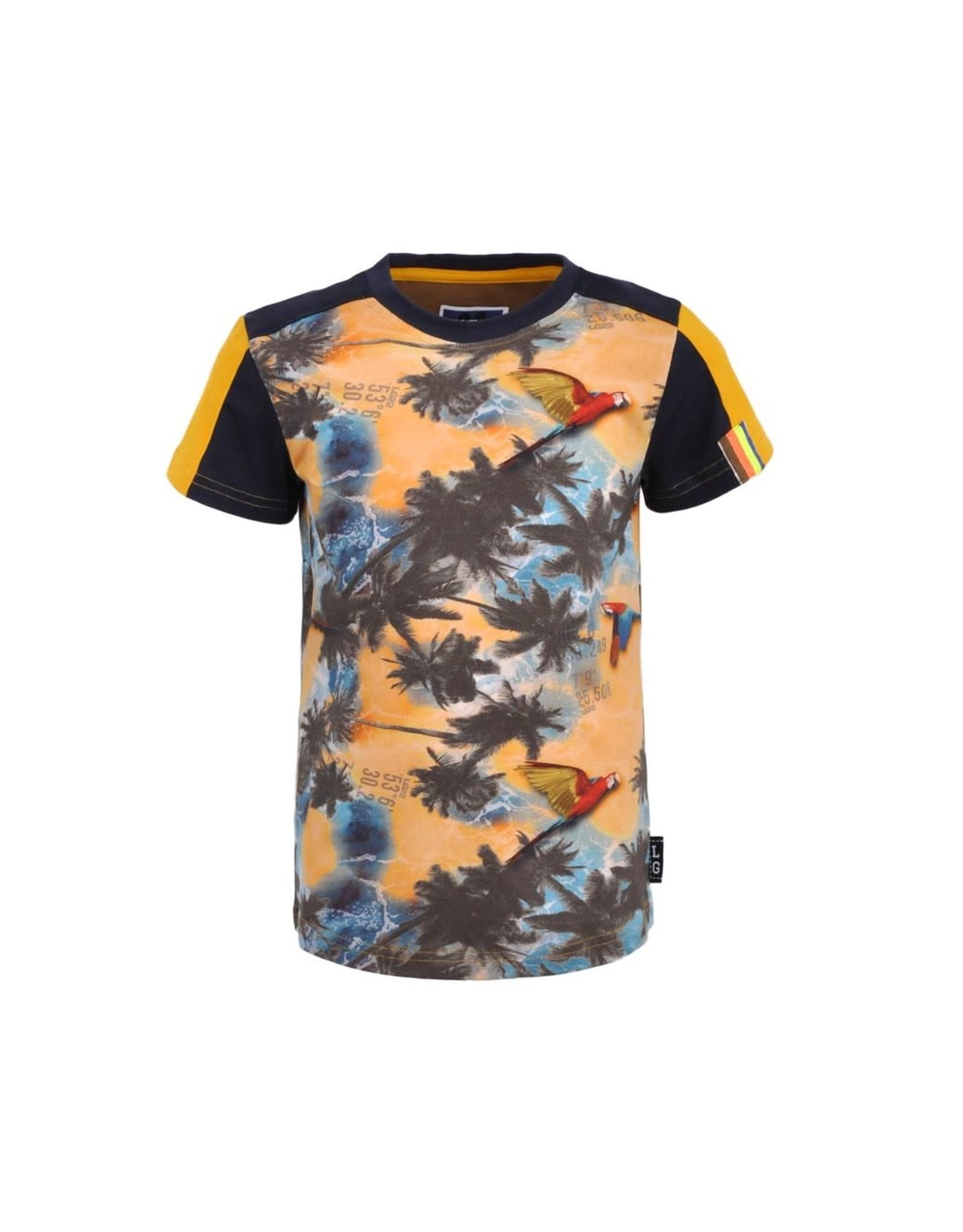 Legends Legends jongens t-shirt Robert Yellow