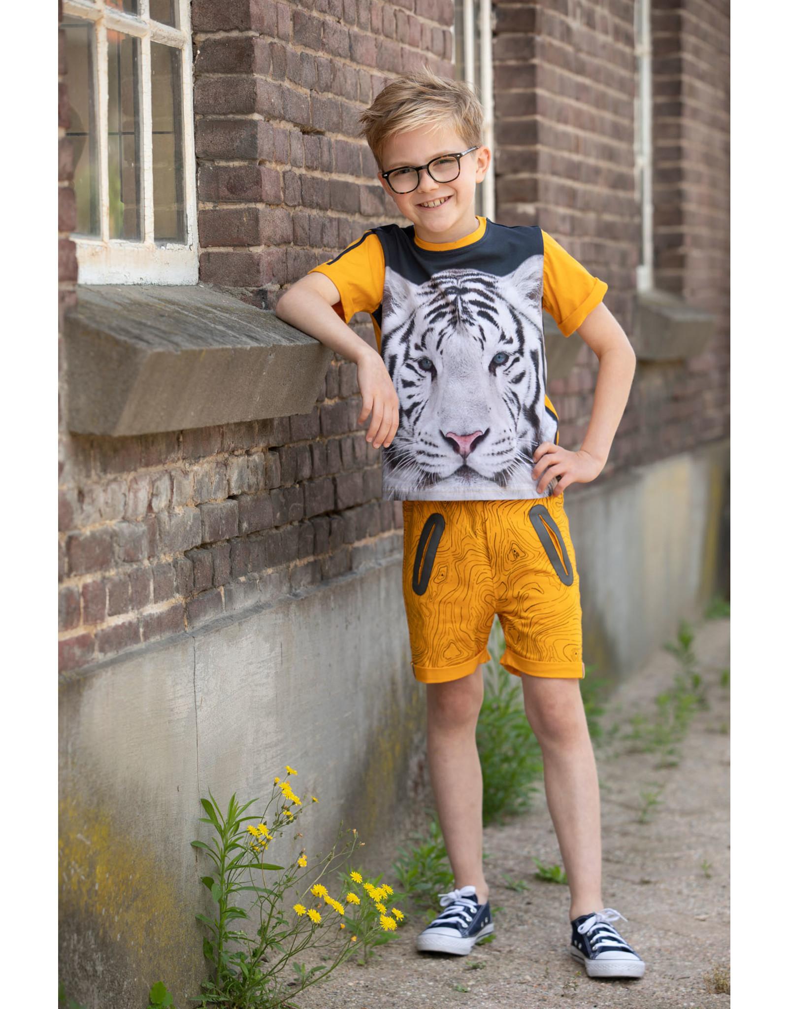 Legends Legends jongens t-shirt Ralph Yellow