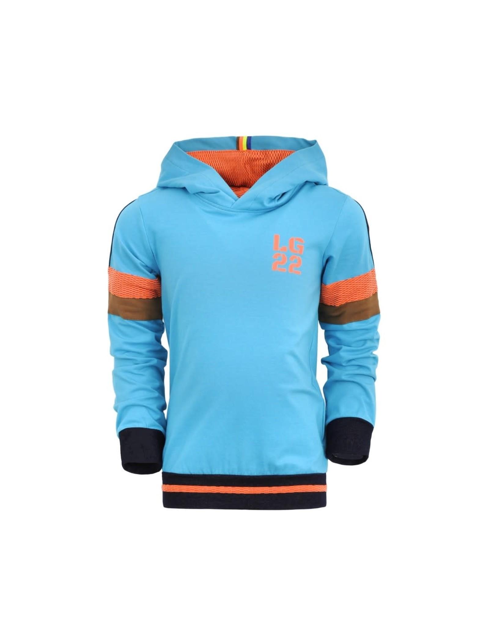 Legends jongens hoodie Reinout Scuba Blue
