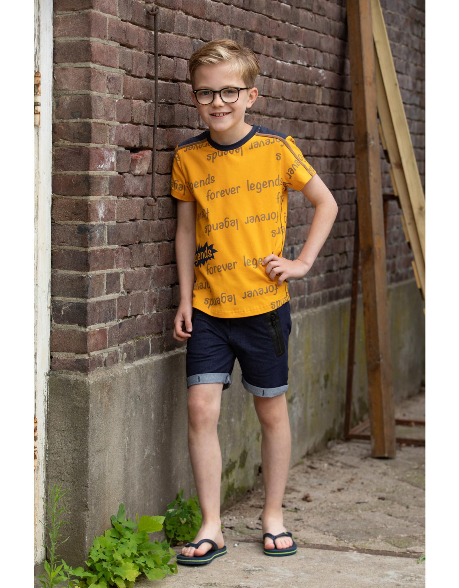 Legends jongens t-shirt Olaf Yellow