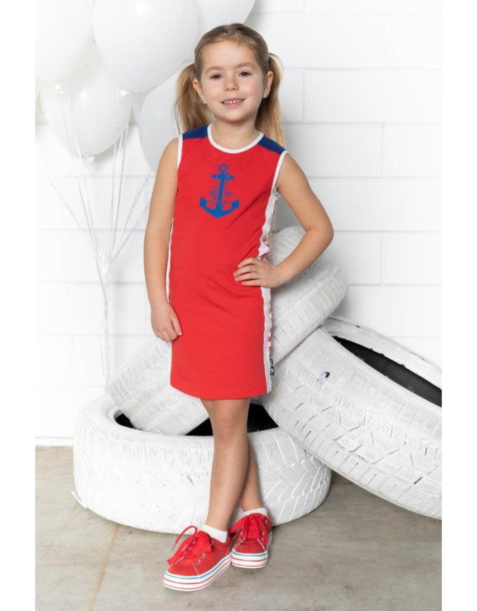 Lovestation meisjes jurk Giana Red