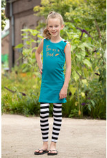 Lovestation Love Station meisjes mouwloze jurk Niara Sea Blue