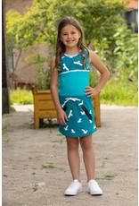 Love Station meisjes mouwloze jurk Nathalie Sea Blue