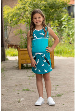 Lovestation Love Station meisjes mouwloze jurk Nathalie Sea Blue