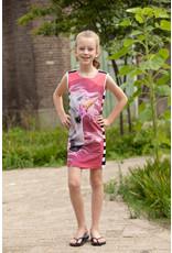 Lovestation Love Station meisjes mouwloze  jurk Nellie Pink