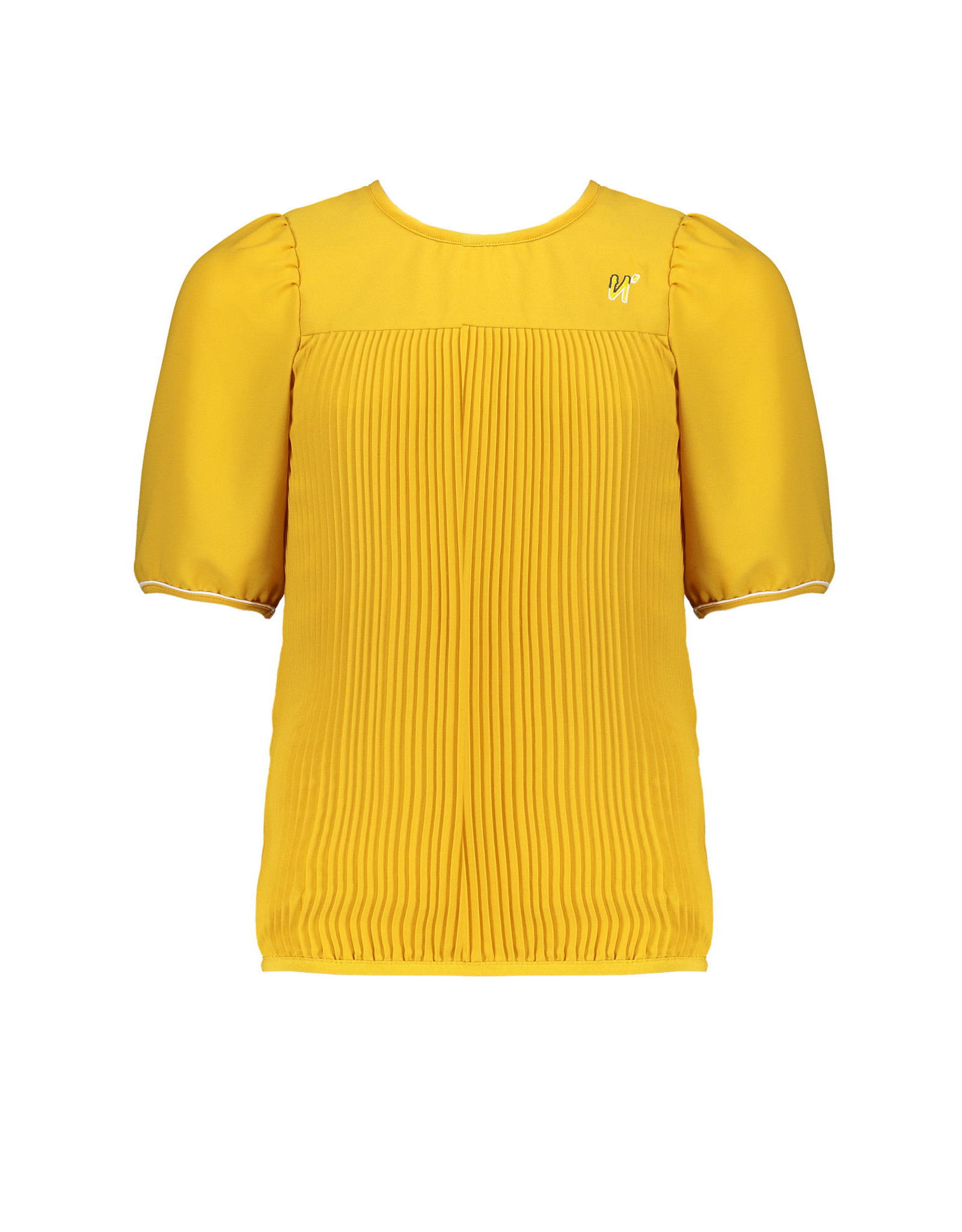 NoBell meiden oversized plisse blouse Timmy Safari Gold