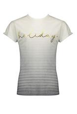 NoBell NoBell meiden t-shirt Holiday Kaka Grey Navy