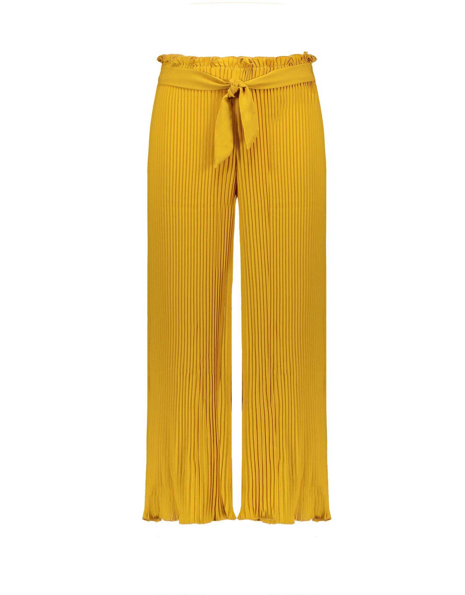 NoBell NoBell meiden plisse broek Sasha Safari Gold