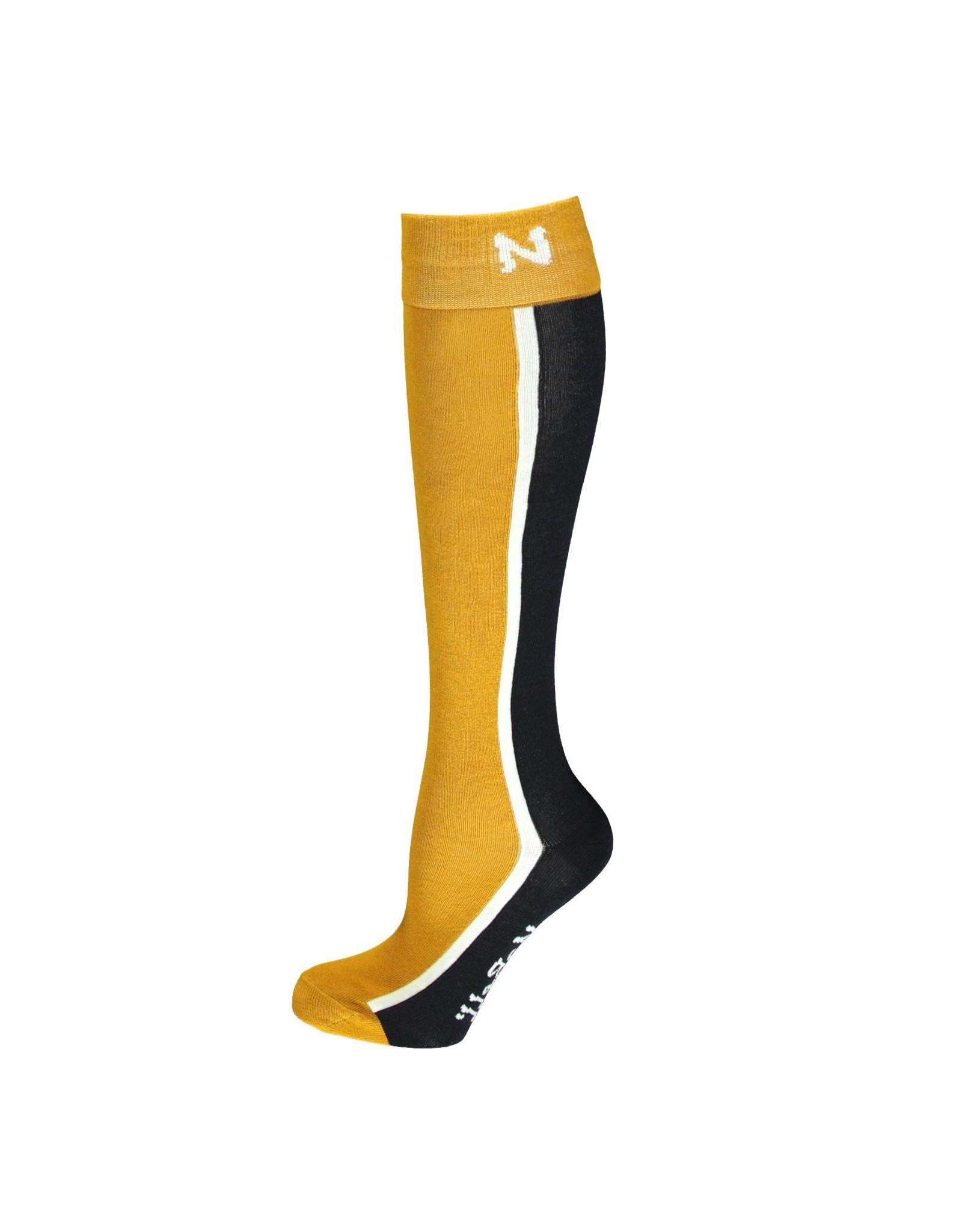 NoBell meiden lange sokken Rose Safari Gold